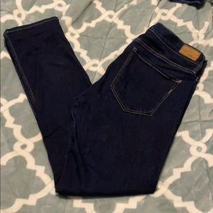 Express Size 12 Skinny Mid Rise Stretch Jean